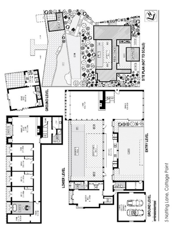5 Notting Lane Cottage Point Nsw Floor Plan 0 Post