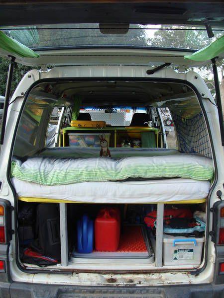 Best 25 van to camper conversion images on pinterest camper mitsubishi express fandeluxe Images