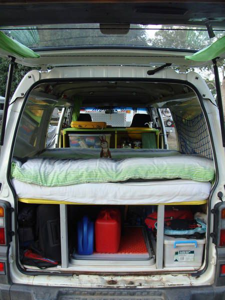 Mitsubishi Express | Van to Camper Conversion | Pinterest ...
