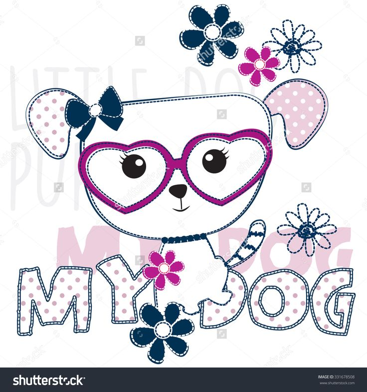 200 best dog machine embroidery images on pinterest for Shutterstock t shirt design
