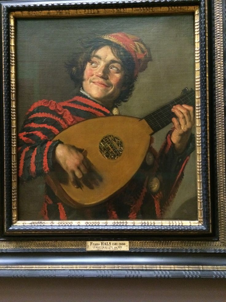 The Lute  player   by  Frans  Hals  1600