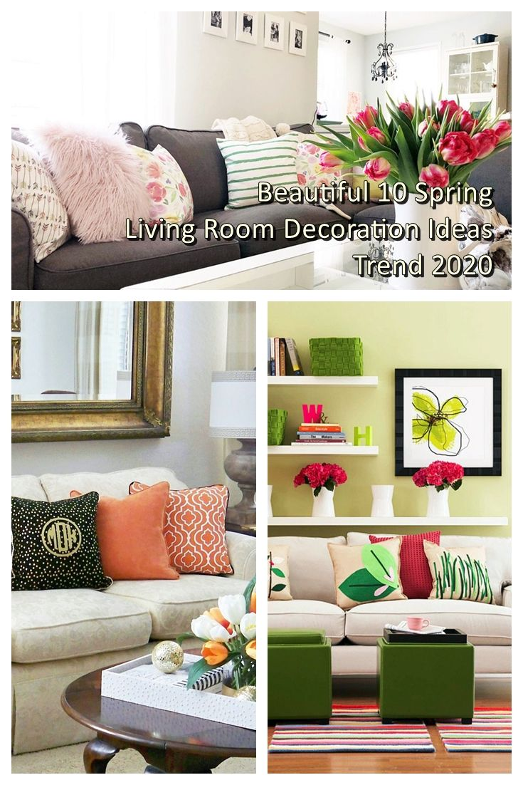 Beautiful Spring Living Room Decorations Trend 2020 In 2020