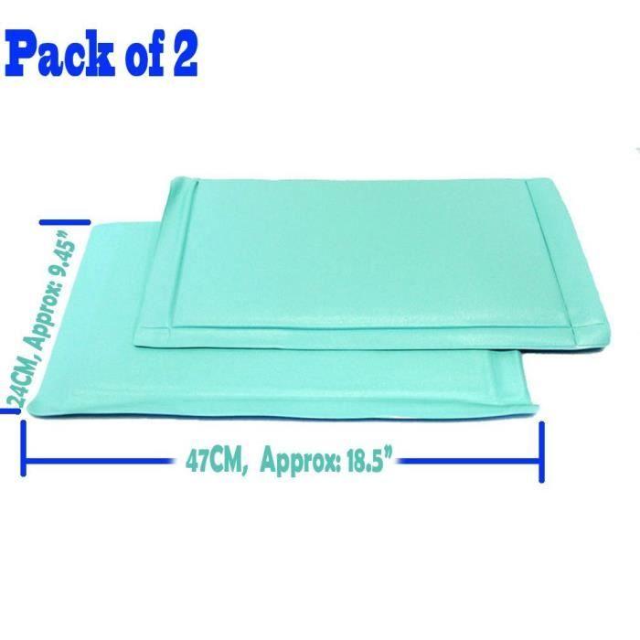 2X Anti-Frost Mat Congélateur: Profitez de congélation sans givre, Empêche l'accumulation de givre et de glace dans votre congélateur Il suffit de placer dans le fond de votre congélateur ou compartiment congélateur de votre réfrigérateur, met fin à