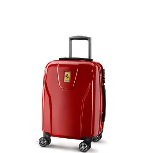 New suitcase required! oh i really like to have this ERGONOMIC LUGGAGE BY FERRARI