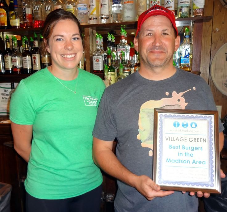 Village Green is back. Six years since winning the inaugural title, the Middleton venue was once again selected by fans for having the best burgers in the annual EatDrinkMadison.com poll. Read more at: http://www.eatdrinkmadison.com/burger2016.php