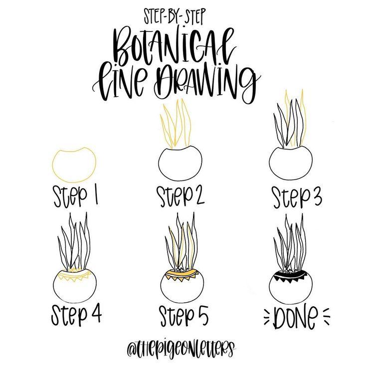 Kawaii Plant Doodles