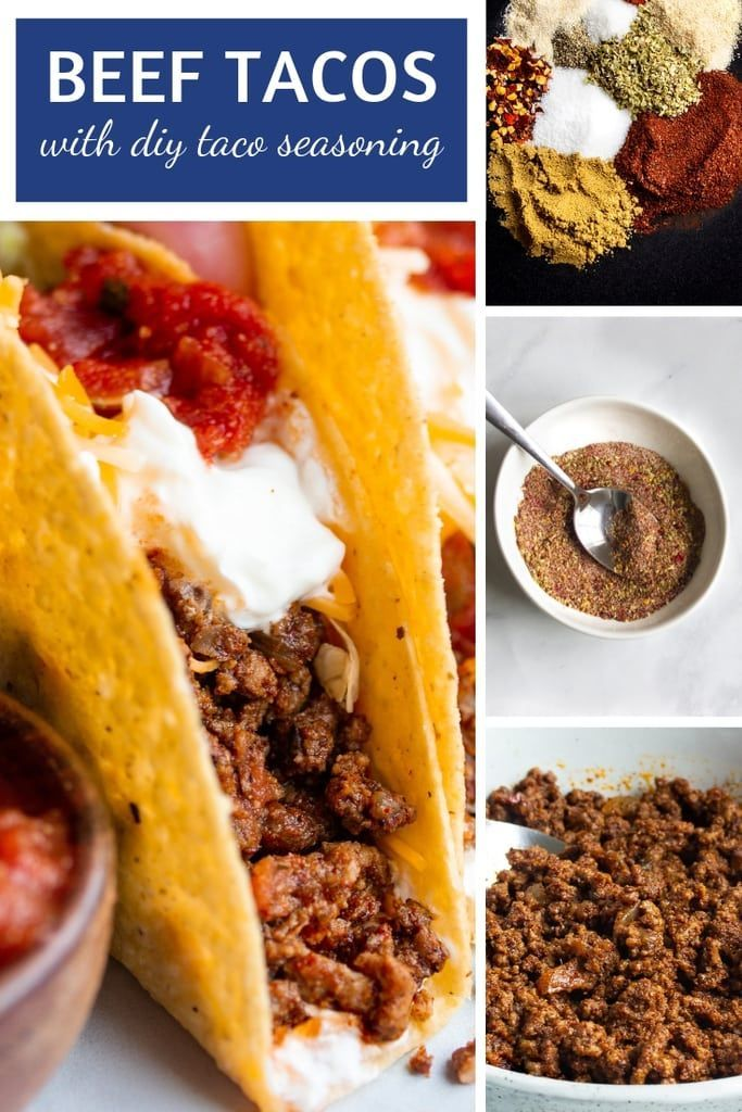 Best Classic Ground Beef Tacos Recipe Ground Beef Tacos Tacos Beef Recipes