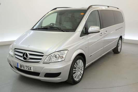 Used 2011 (11 reg) Silver Mercedes-Benz Viano 3.0 CDI Ambiente 5dr Tip Auto - REAR DVD - REVERSE CAM - SAT NAV - PHONE for sale on RAC Cars