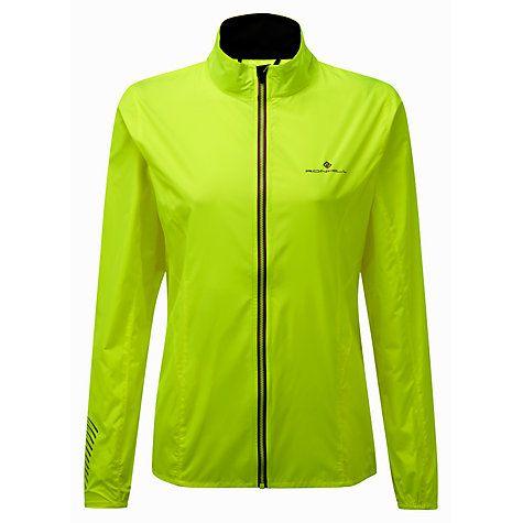 Buy Ronhill Stride Windspeed Women's Running Jacket, Yellow Online at johnlewis.com
