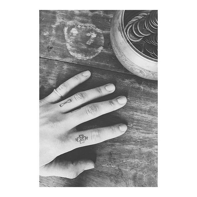 Instagram feed w/ hand poked tattoos