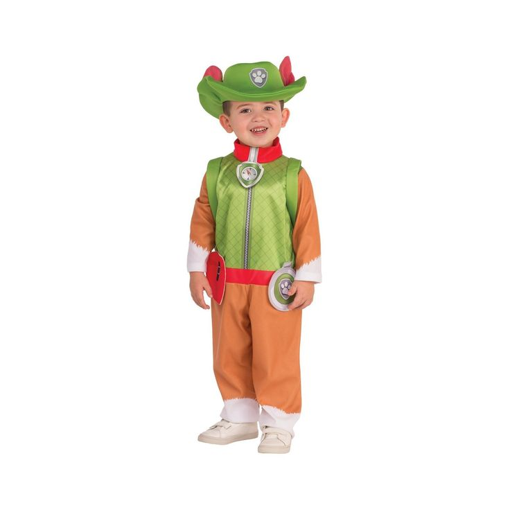 Halloween Boys' Paw Patrol Paw Patrol : Tracker Child Costume Small, Multicolored