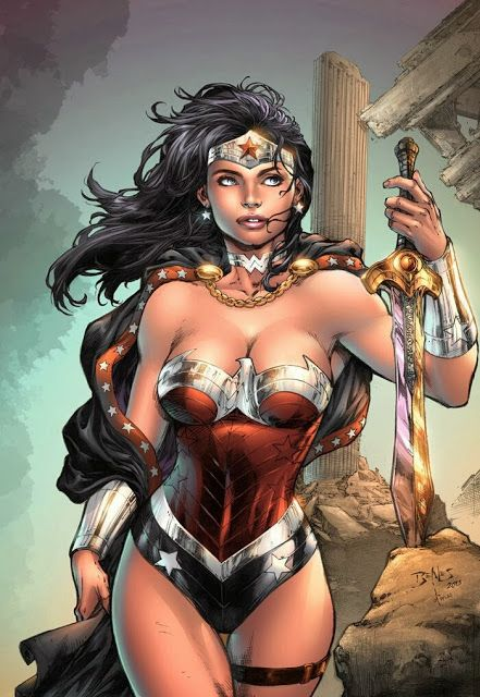 Comic Art: Wonder Woman
