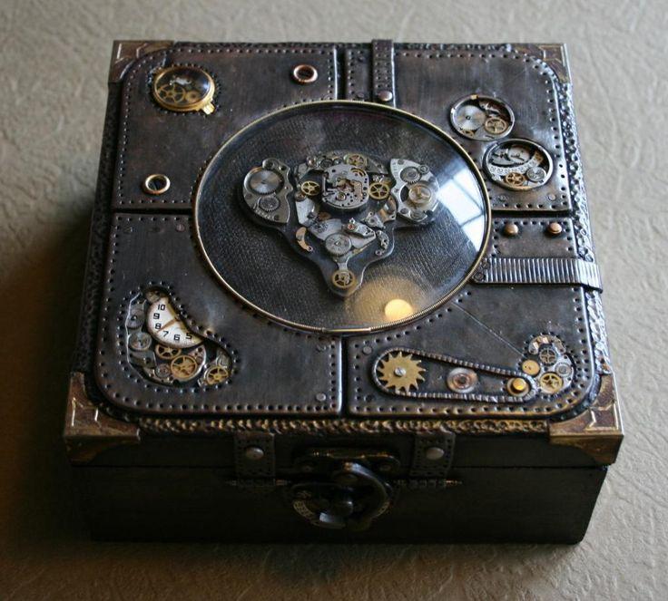 TUTORIAL - Steampunk box