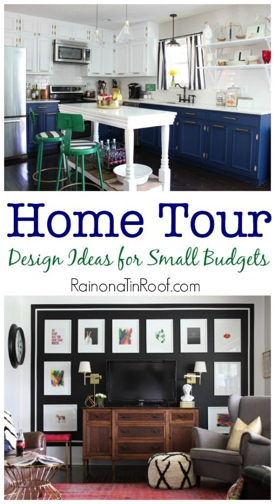 spring home tour design ideas for small budgets