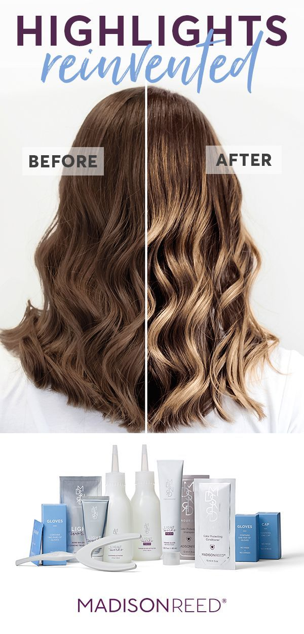 Ready For Balayage Highlights It S Easy To Get Diy Balayage At Home With Madison Reed Light Works Just Diy Balayage Diy Highlights Hair Diy Balayage At Home