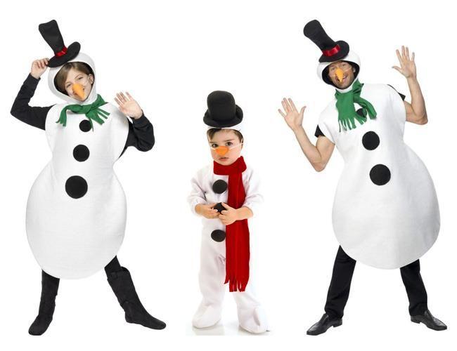 Идеи как сшить детский новогодний костюм снеговик
