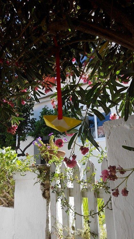 Happy house in Ikaria island
