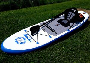 2 SUP Paddle Boards with Paddles - A2 ZRay Premium Paddle Boards Mississauga / Peel Region Toronto (GTA) image 2