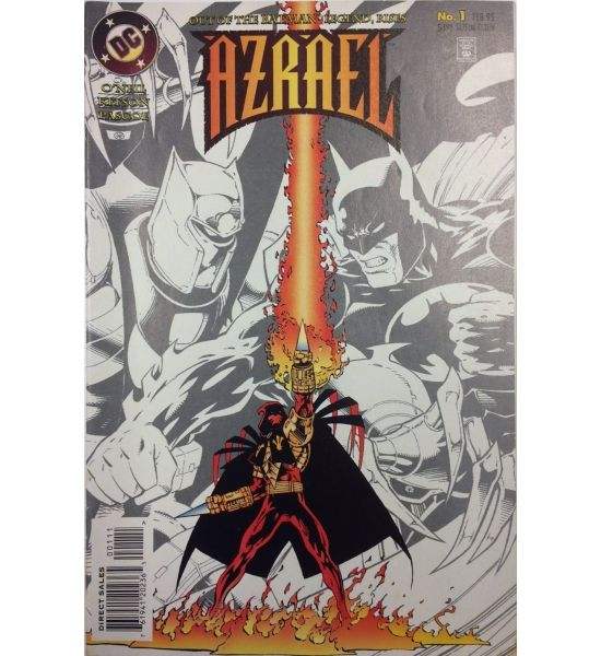 For Sale: Azrael 1 - 1995 #Batman #DCComics #ComicsforSale