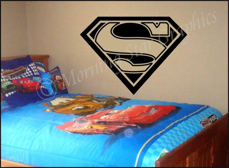Kids Room SUPERMAN Large Vinyl Wall Art Decal 30 x by  : 04e82d5129852a7ede35cf8f086c6e3a from www.pinterest.com size 736 x 542 jpeg 56kB