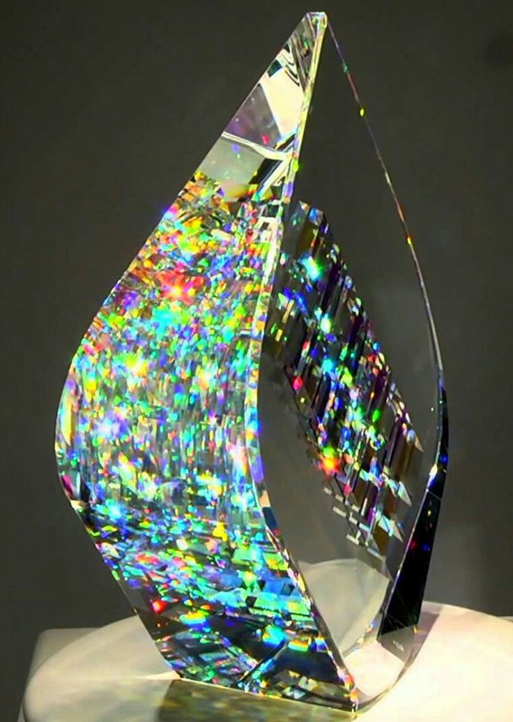 Optic glass sculptures by Jack Storms. Breathtaking.