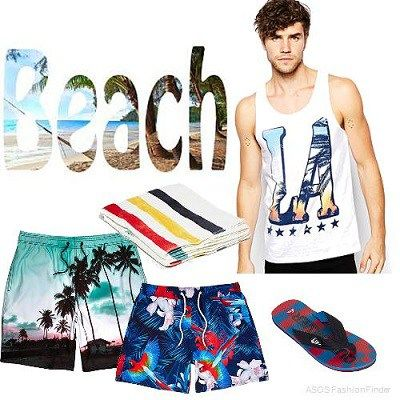 MEN'S BEACH STYLE | What To Wear To The Beach Or A Pool Party