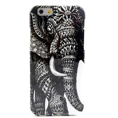 retro olifant patroon TPU zachte hoes voor iPhone 6 - EUR € 4.99