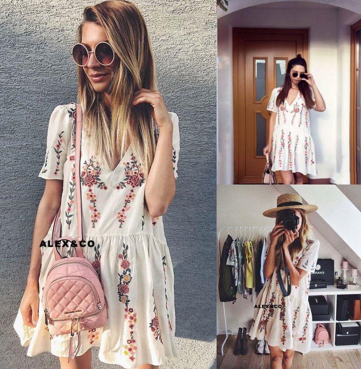 Zara dresses 2018 white