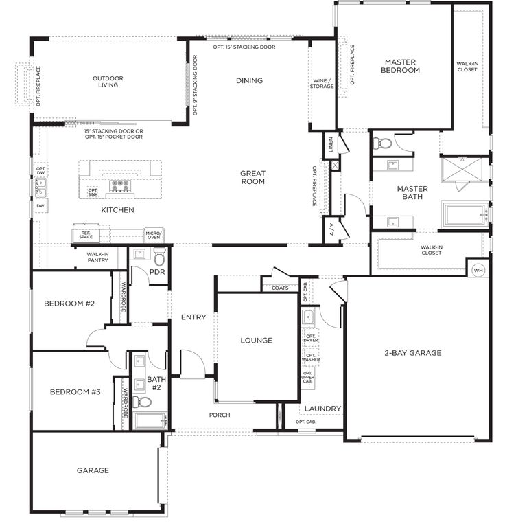 Floor plan for bathroom master bedroom addition plan for House plans with future additions