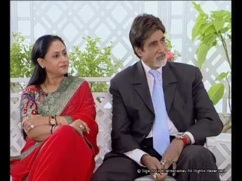 Rendezvous with Simi Garewal Amitabh Bachchan & Family Part 1 - YouTube