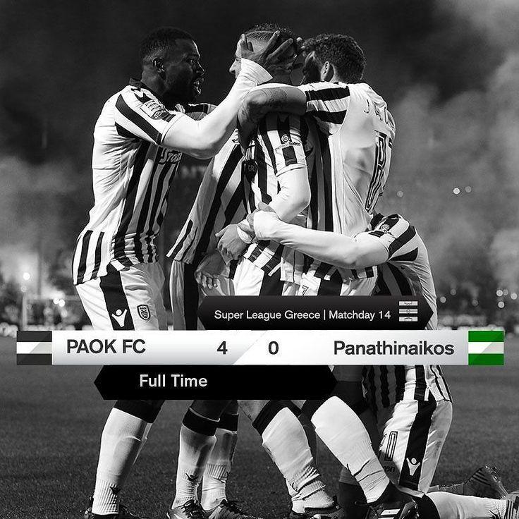 #PAOKPAO 4-0 #SuperLeague