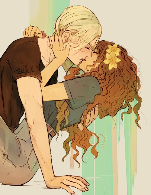 arriku | draco x hermione art side blog. Please do not repost!