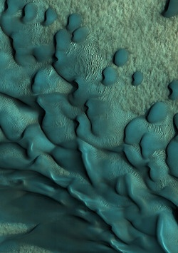 Pattern on Mars