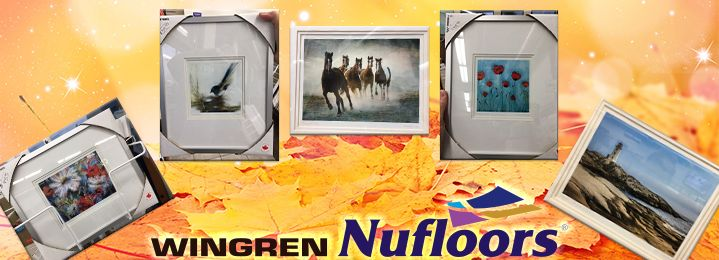 Save 50% on 2 Framed Art Prints (BOGO!) at Wingren Nufloors in Nanaimo! Grab your coupon & drop in today! Save big on new prints for your home/office, or grab a few as gifts for friends and family!  >> (+40% off additional in-store prints!)