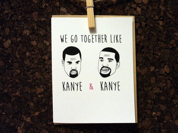 8 best images about Greeting cards – Kanye West Valentine Cards