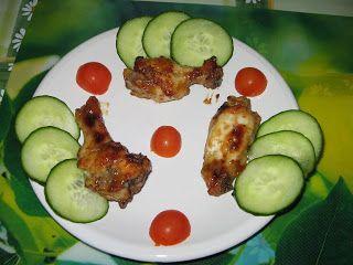 Heni modern konyhája: Mézes-mustáros csirkeszárnyak