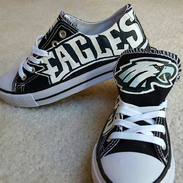 Philadelphia Eagles Converse Sneakers Philadelphia eagles  Philadelphia eagles