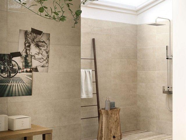 Rivestimento lucido in bicottura chic iperceramica rivestimenti bagno pinterest chic - Rivestimento bagno design ...
