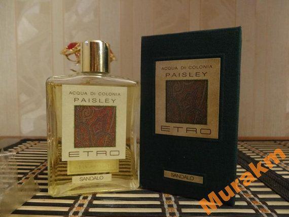 Etro de Paisley para hombre 125 ml. Colonia Vintage por MyScent