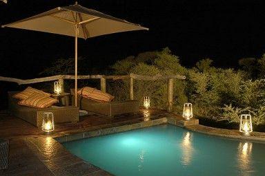 Motswiri Private Safari Lodge  - [Pool area]  North West Province - Africa