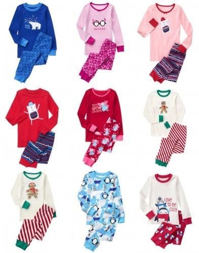 385bf79d8 Boys Clothing Sizes 4 and Up 11452  Nwt Gymboree Holiday Pajamas 2Pc ...