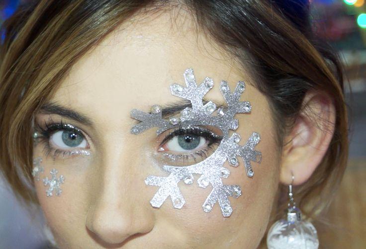 Christmas inspired makeup, visit our blog www.hotasice.com/en/blog