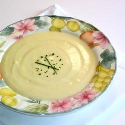 Leek and Potato Soup by AnUneducatedPalate