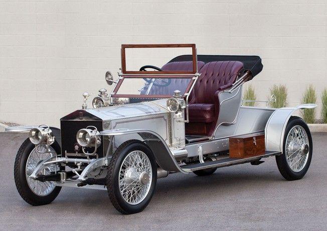 1911 Rolls-Royce 40/50 HP Silver Ghost Roadster - Rolls-Royce Motor Cars, Goodwood, UK 1904-present)