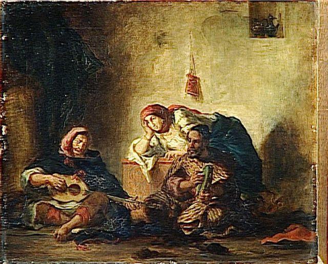 Ferdinand-Victor-Eugène Delacroix (Charenton-Saint-Maurice, Francia, 26 de abril de 1798 - París, 13 de agosto de 1863) Ref. htt...