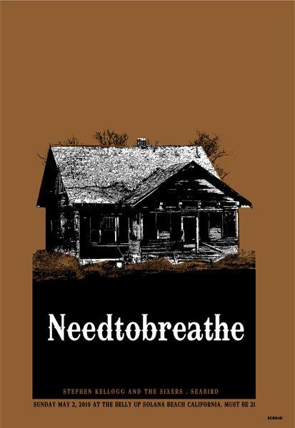 GigPosters.com - Needtobreathe - Stephen Kellog & The Sixers