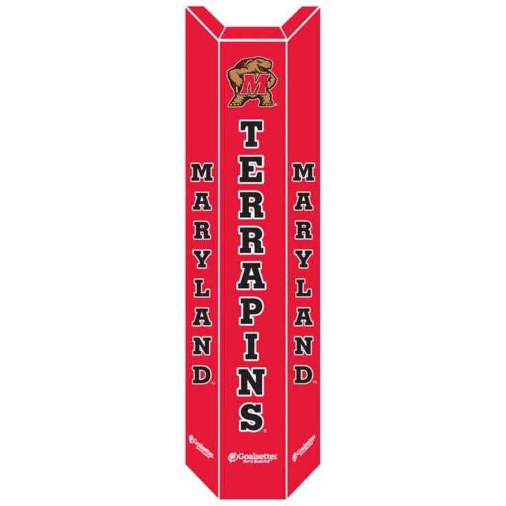 Goalsetter Maryland Terrapins Basketball Pole Pad, Red
