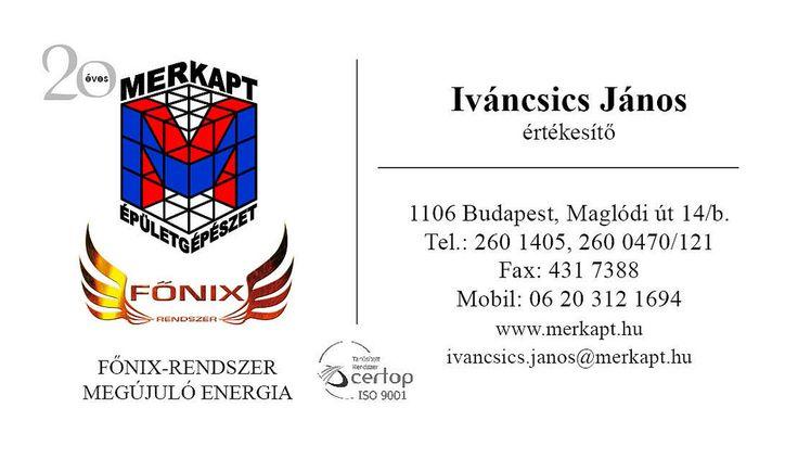 Merkapt co. business card