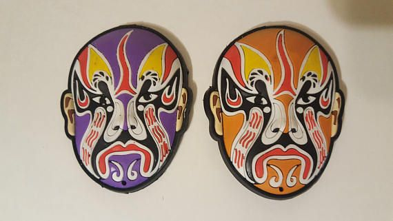 Check out this item in my Etsy shop https://www.etsy.com/ca/listing/578956689/wrestling-mask-magnets-lucha-libre-mask