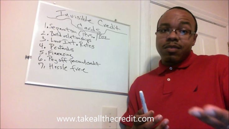 Invisible Credit Cards (Business Credit) https://www.youtube.com/watch?v=e0SHeMrxABo #businesscredit #creditrepair